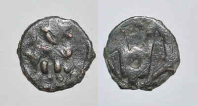8762b Chach AE coin, Unknown ruler.