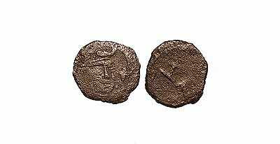 9213 Chach AE coin, Unknown ruler.