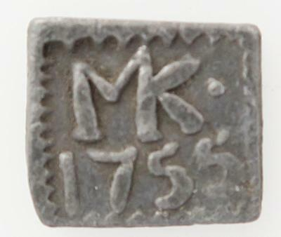 Scottish Communion pewter Token Kilsyth 1755  Brook 1611 Burzinski 4880