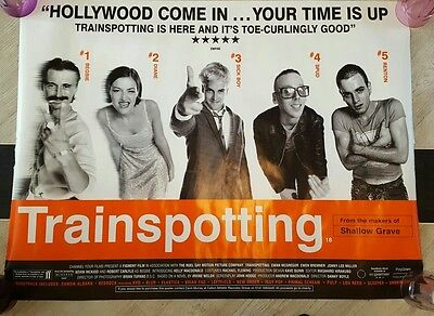 Trainspotting Original 1996 Film Poster 30 x 40 inches