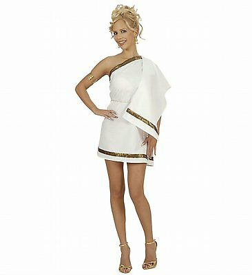 Ladies Greek Goddess Dreamgirlz Costume Large UK 14-16 for Toga Party Rome Fancy