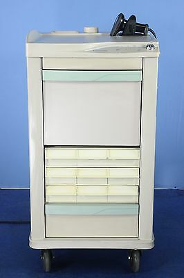 Lionville Medical Cart with Key Medical Supply Cart with Warranty