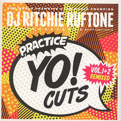 "D J Richie Ruftone Pres Practice Yo Cuts Volume 1 & 2 Remixed New Uk 7"" Sealed"