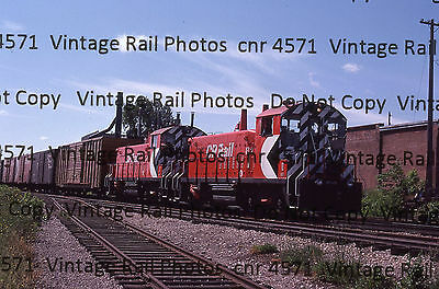 Original Kodachrome Slide CPR Canadian Pacific Grand River Railway SW1200RS Galt