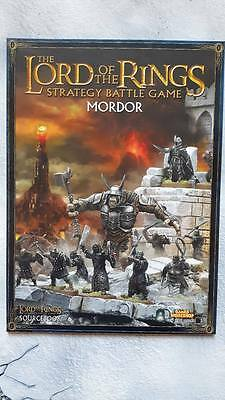 Lord of the Rings MORDOR Source book New Games Workshop LOTR