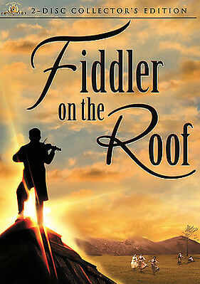 Fiddler on the Roof (DVD, 2007, 2-Disc Set, Collectors Edition)