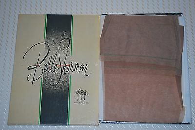 "3 Pair New 10 33"" ""Belle-Sharmeer"" Reinforced Heel Toe Vintage Nylon Stockings"