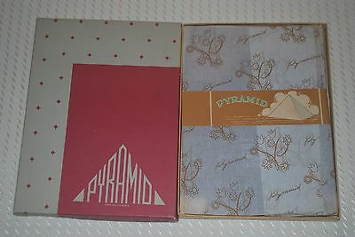 "5 Pair New 9 1/2 33"" ""Pyramid"" Full Fashion Vintage Nylon Stockings"