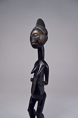 Lovely Lady ~ A Fine Old Kulongo Female sculpture, African Art