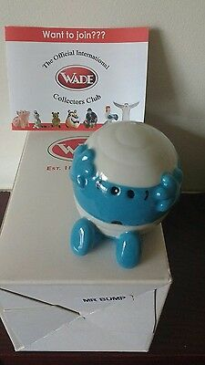 wade mr bump from the Mr men collection