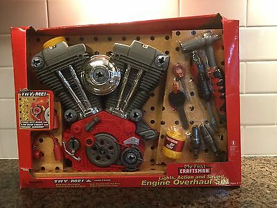 My First Craftsman Toy V Twin Motor Overhaul Play Set