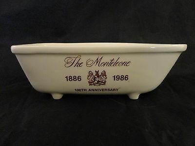 HOTEL MONTELEONE NEW ORLEANS 100th Anniversary BATH TUB soap dish holder vintage