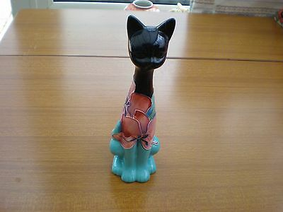 OLD TUPTON WARE TALL  CAT in excellent condition