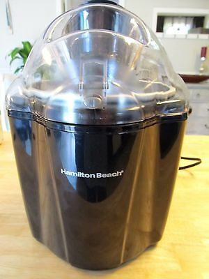 Hamilton Beach 68320 Ice Cream Maker, 1.5-Quart Black