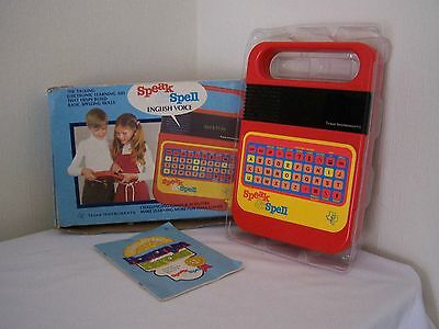 Vintage Speak and Spell Texas Instruments 1978 Full Working order
