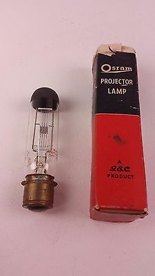 2 Vintage Projector Projection Lamp Bulb made by Osram and Sylvania Free UK P&P