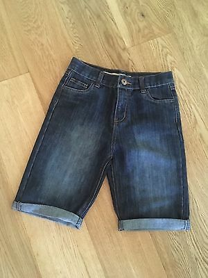 Boys Denim Jeans Shorts Age 9-10 Worn Once