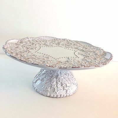 Mud Pie Cake Stand Cupcake Stand Holiday Dishes Christmas Table Decor