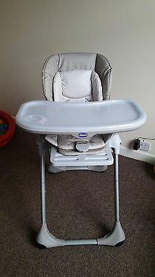 CHICCO Polly 2 in 1 Baby Highchair, Nature colour
