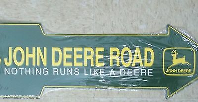 John Deere Sign Nothing Runs Like A Deere Advertising Wall Decor Free Shipping