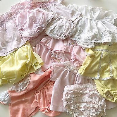 Vintage Baby Clothes Lot
