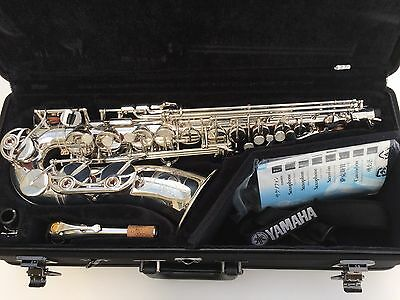 Yamaha YAS62SII Alto Saxophone Outfit in Pristine Condition - with warranty