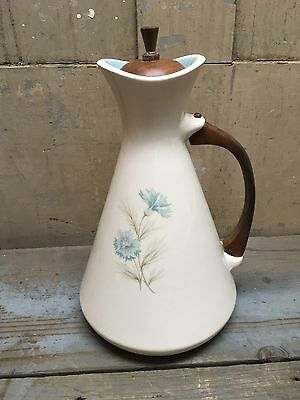 Vintage Taylor Smith Taylor Boutonniere Ever Yours Pitcher Wooden Handle & Lid