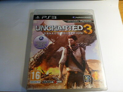 Uncharted 3 Drake´s Deception Playstation PS3