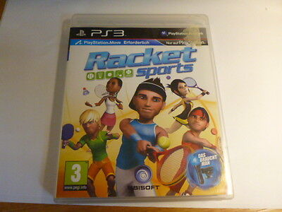 Racket Sports Playstation PS3