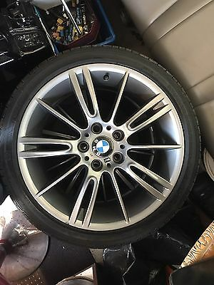 "BMW MV3 18"" Staggered Alloys With Tyres"