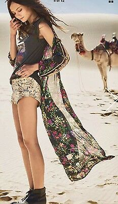 Spell And The Gypsy Collective Gypsy Queen Maxi Kimono. NWT  One Size