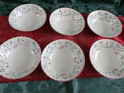Johnson Brothers Summer Chintz 6 Cereal / Soup Bowls 6 inch (155mm)