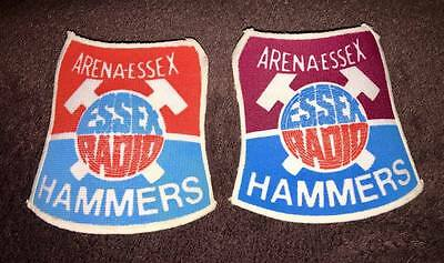 2 Lakeside Hammers Essex Speedway motor sport sew on patches