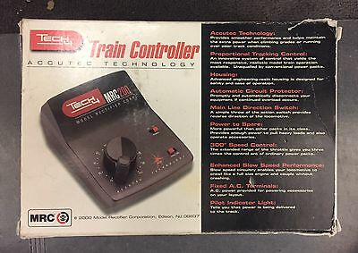Tech 4 MRC 200 Train Controller Accutec Technology DC Motor Controller NIB
