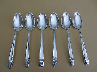 Holmes & Edwards Silver Plate Teaspoons - Set of 6