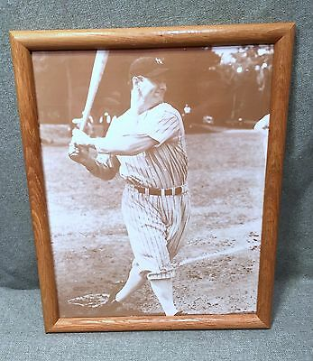 Lou Gehrig The Iron Horse New York Yankees 11 x 14 Photo Picture Poster