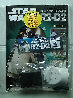 DEAGOSTINI STAR WARS - Build Your Own R2-D2 Issue 4 Sealed With Parts