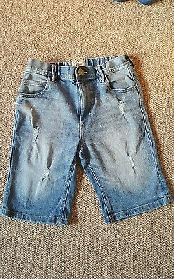 boys next denim shorts age 11 years