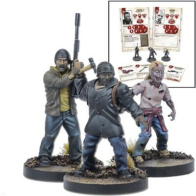 The Walking Dead - All Out War - Tyreese  Booster - Mantic Games