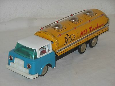 OIL TANKER - 35 cm - VINTAGE TINTOY - CHINA - 7