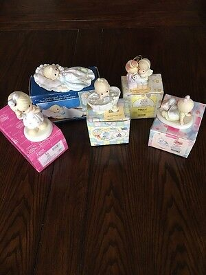 PRECIOUS MOMENTS Collection - Lot of 5