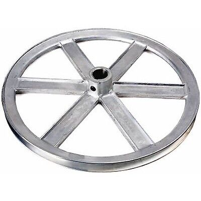 """Chicago Die Cast 600A  6"""" x 5/8"""" Die-Cast V-Grooved Pulley"""