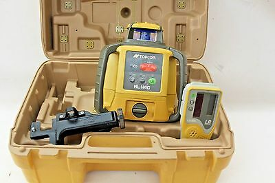 Topcon RL-H4C Rotating Laser Level + LS-80L Receiver W/Case