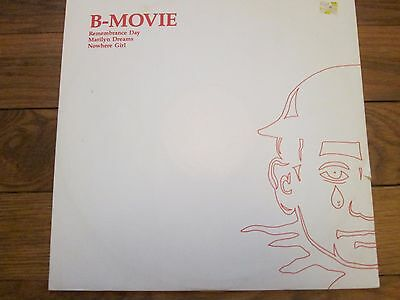 B-MOVIE Remembrance Day  MARILYN DREAMS  & NOWHERE GIRL - VG/EX WAX RECORDS  12""