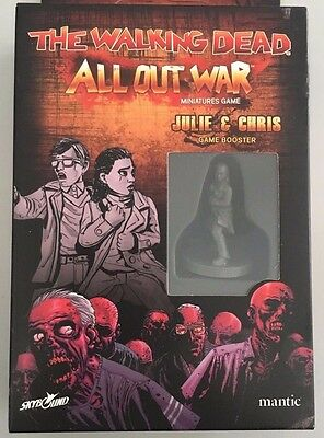 The Walking Dead - All Out War - Julie And Chris  Booster - Mantic Games