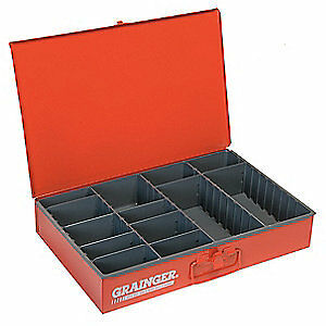 DURHAM Drawer,4 to 13 Compartments,Red, 119-17-S1158, Red