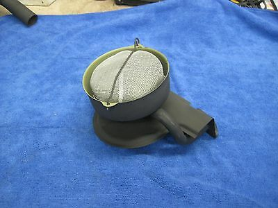 Flathead Ford oil pickup housing and strainer