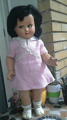 Bambola Levia anni 50  made in italy old vintage doll poupee antica