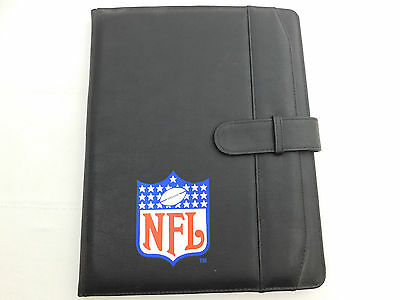 "2001 Authentic NFL Players Binder Organizer 13""High x 10"" Wide"