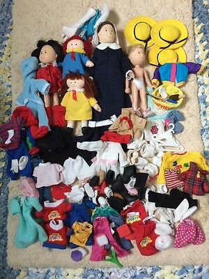 Madeline Friends Dolls Clothes & Accessories Over 100 Pieces !!!!